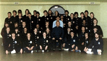 Group picture with Chang Dung Sheng in Sweden 1982